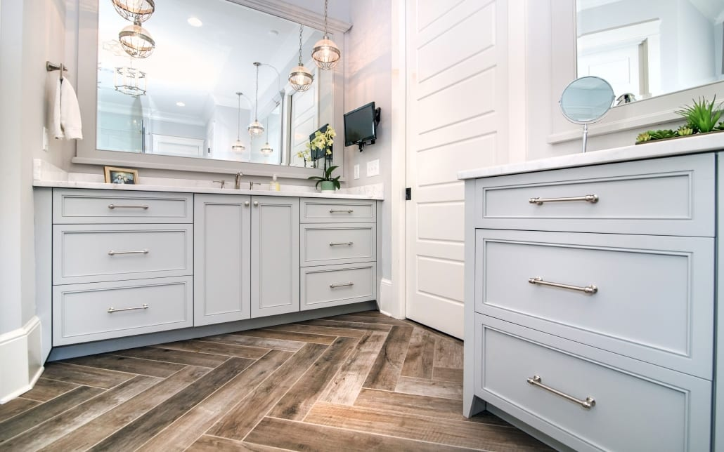 Bathroom Cabinet Design In Cleveland County NC