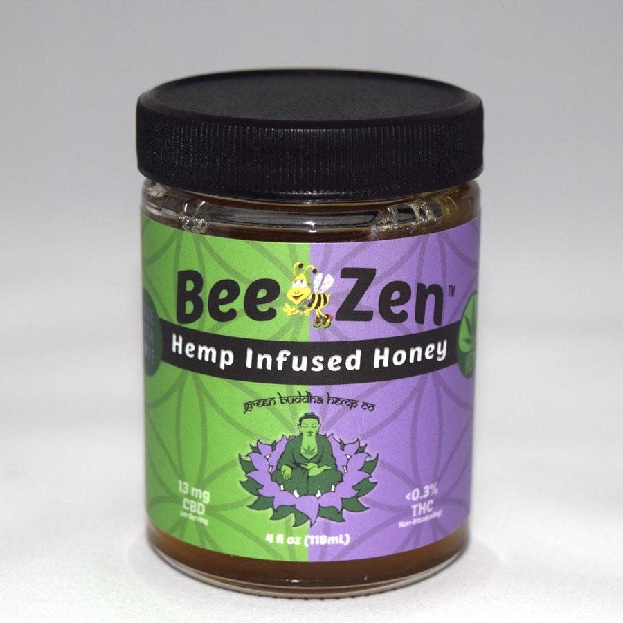 BeeZen Hemp Infused Honey