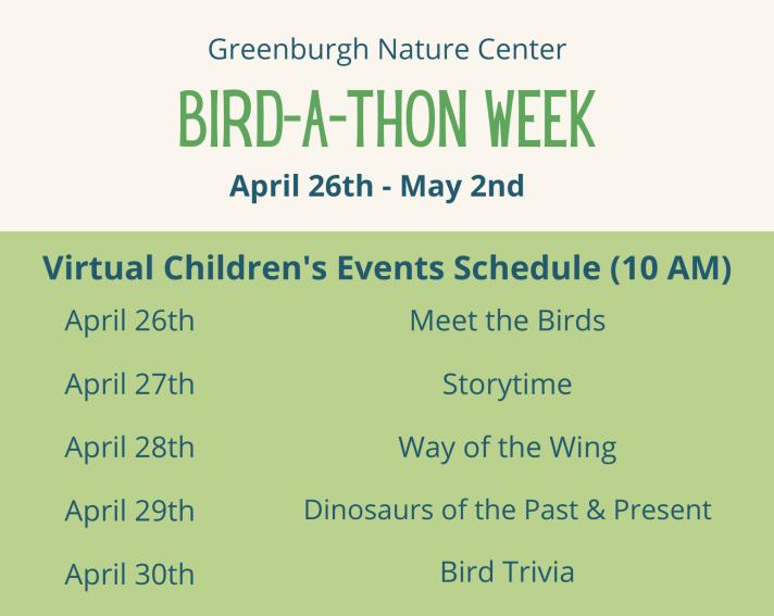 Bird-a-thon Week (2)