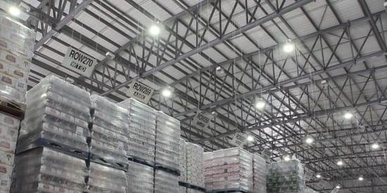 we install warehouse lighting systems