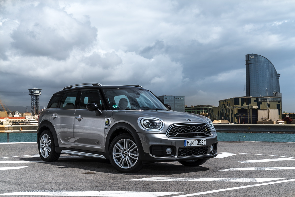 MINI – Cooper S E Countryman ALL4 (fiche technique)