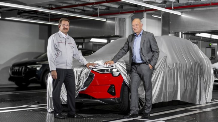 Audi e-tron: productie in Brussel is gestart