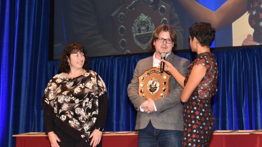 1024 x 576 - Nathan Hume ASOY Awards presentation with Naga Munchetty and Ruth Mann mr