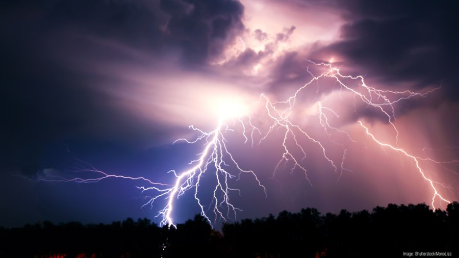 1024 x 576 - Thunderstorm
