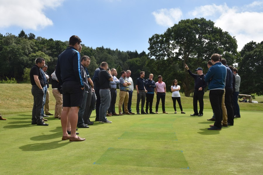 Henry Bechelet Ryder trial demo at Turf Science Lite 2018 - Old Thorns Liphook 4mr