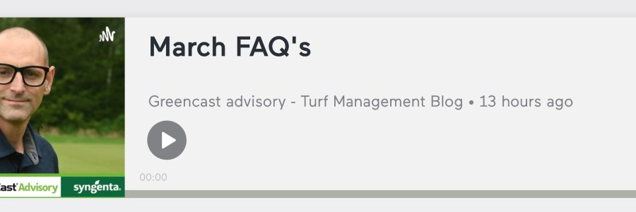Turf Care Podcast from Syngenta