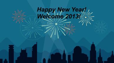 2012 New Year Blog