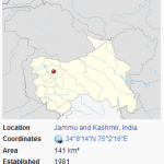 Dachigam National Park location