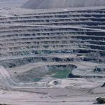 Open pit copper mine at Chuquicamata
