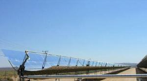 Solar Thermal Power Plant - Parabolic trough