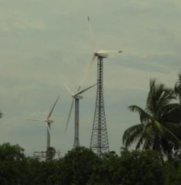 Wind turbines in Tamilnadu