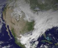 Polar vortex at US
