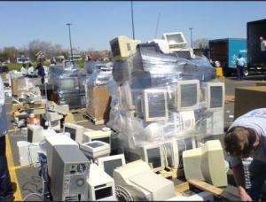 E-waste dump