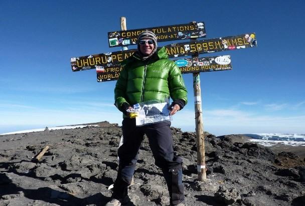 Top of Kilimanjaro, Africa