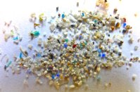 Microbeads pollution