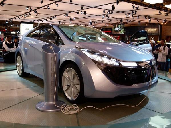 Hyundai Blue Will-electric car
