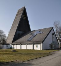 Solar panels on Church