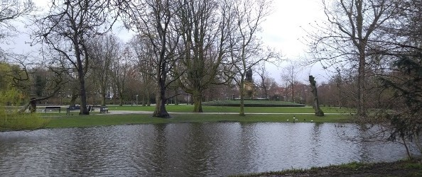 Small lake, Vondelpark, Amsterdam