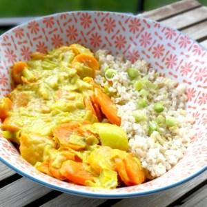 poêlée poireaux-carotte