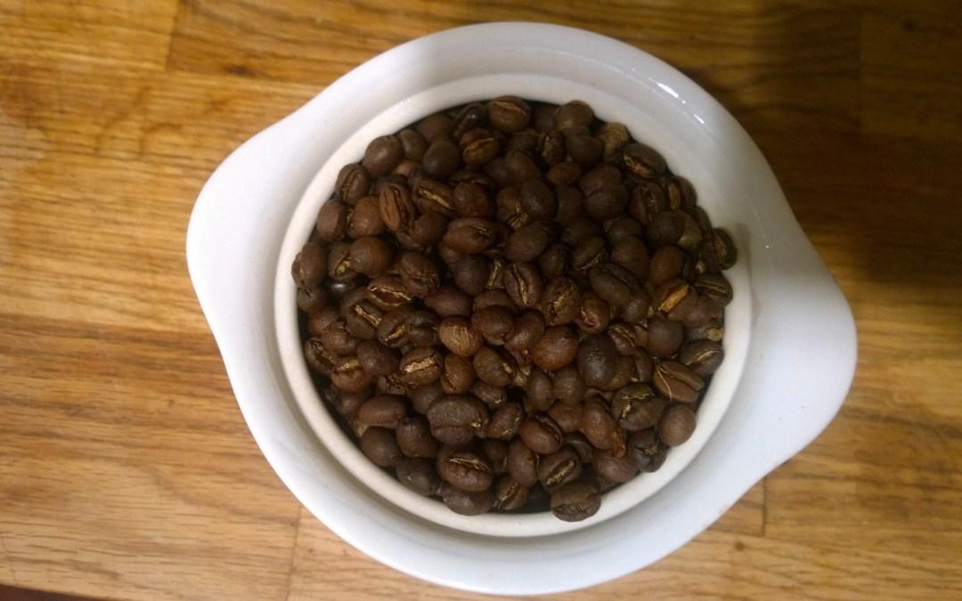 FRESH Roasted Coffee Beans Tanzania Peaberry