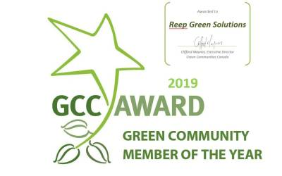 Reep Green Solutions is GC Member of the Year