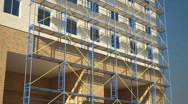 Как, без головной боли, приобрести строительные леса в Киеве