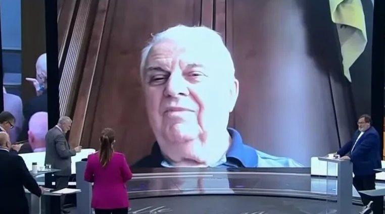 Кравчук дал интервью Скабеевой: шутил про импотентов  и срывался на крик (видео)