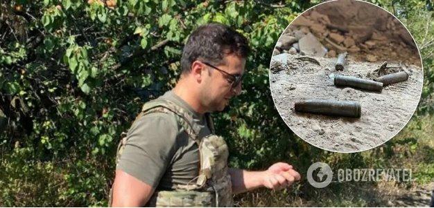 Зеленский посетил «нулевые позиции» в зоне ООС на Донбассе. Эксклюзивные фото