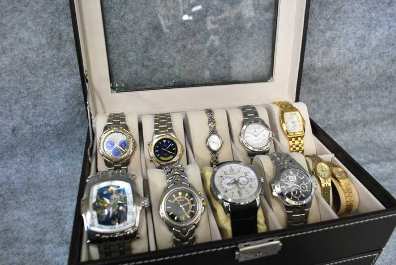 Watches galore!