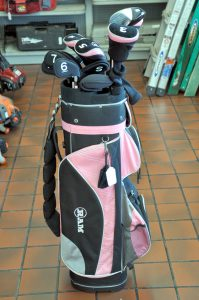 Ladies Ram Golf Club set