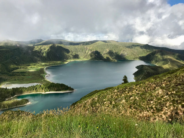 Green nature Azores