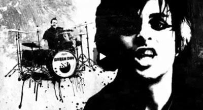 "Screenshot from Green Day's ""21st Century Breakdown"" video"