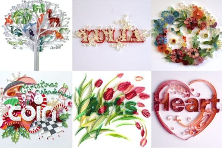 3 Dimensional Paper Illustrations