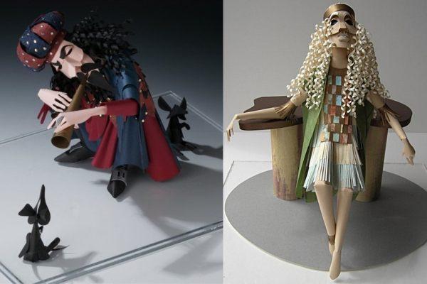 3 Dimensional Paper Sculptures