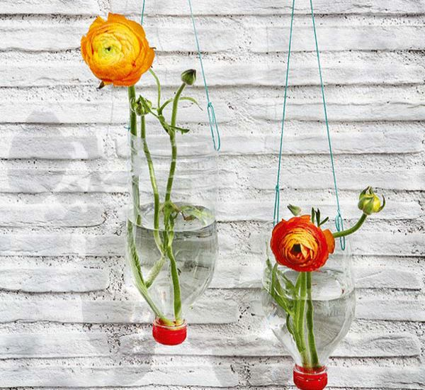 215 & Make flower vases with recycled bottles \u2013 Green Diary ...