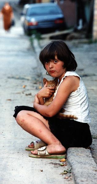 a homeless child