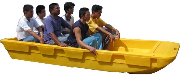 A Plastic Boat