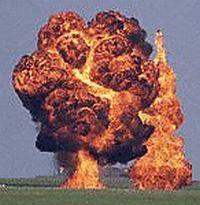 ammonium nitrate fertilizer exploding