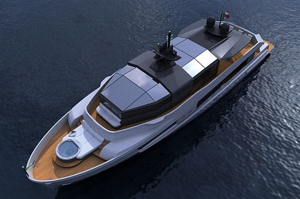 Arcadia solar-powered super-yachts