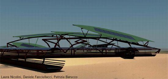 arsprogetti solar art installation 1