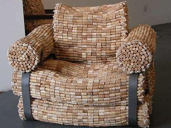 Artistic Cork Chairs