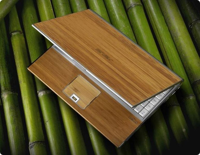 ASUS 12-inch bamboo laptop
