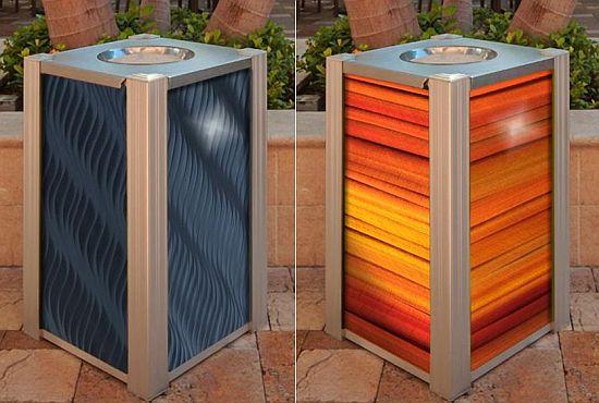 audubon recycling receptacles