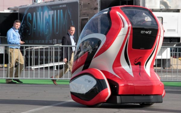 Automated driverless electric cars