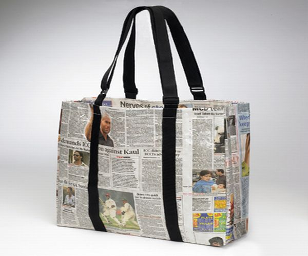 Bag newspaper