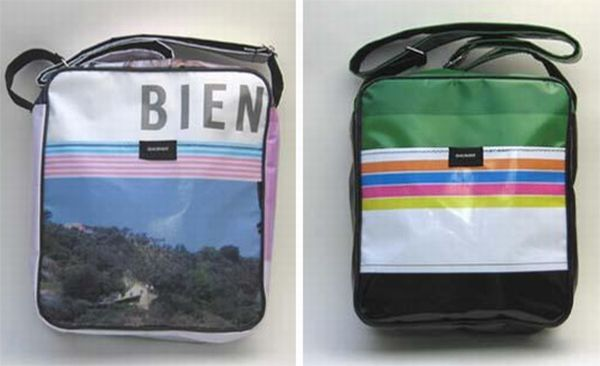 Baumm's Recycled Billboard Bags