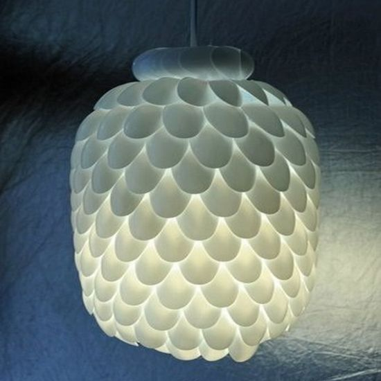 bottle and spoon lamp 1