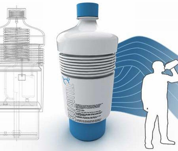 Bottomless water bottle