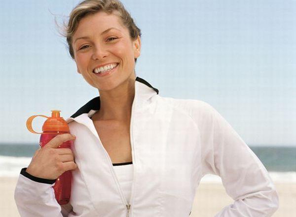 BPA-free re-usable water bottles