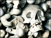 bubonic plague death skulls